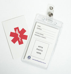 Photo ID/Medical Tag