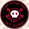 Nut Allergy, Allergy alert patches - allergypunk - 2