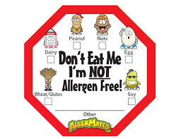 Allergen Alert Labels
