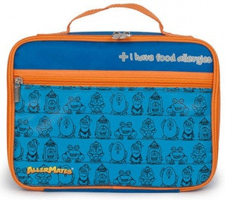 Allergy Alert Lunchbox - BLUE