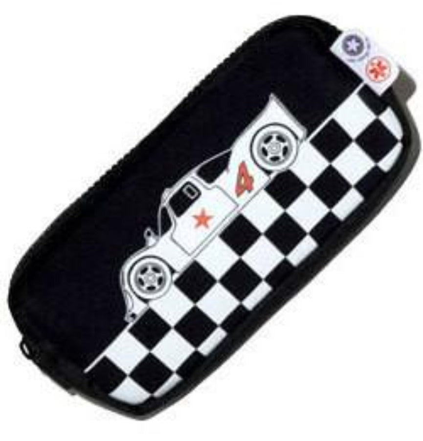 Epipen pouch, racing car design - allergypunk - 1