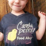 Food Allergy Chick V Neck T-Shirt for Children