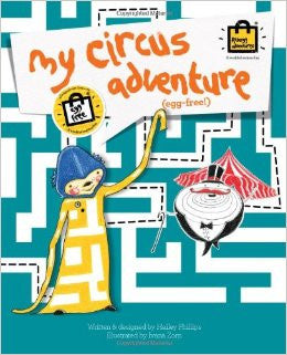 My Circus Adventure: The Egg Free Story Book - allergypunk - 1