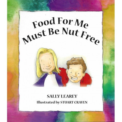 Food for me Must be Nut free, Sally Learey, Children's allergy book - allergypunk - 1