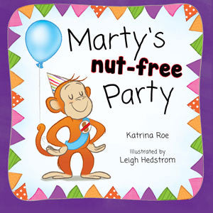 Marty's Nut Free Party - allergy punk - children's book