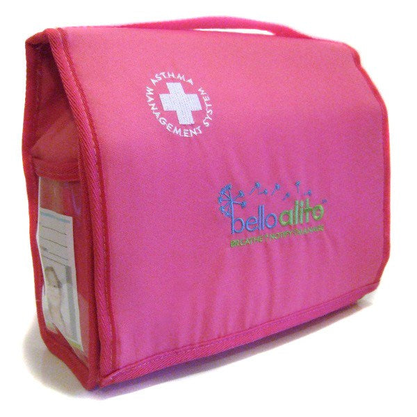 My Asthma Bag™ - PINK - allergy punk - asthma bag 1