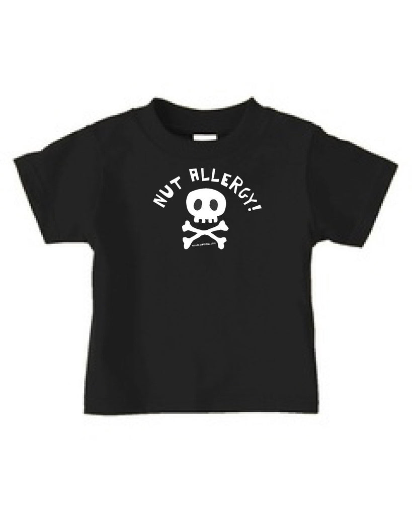nut-allergy-t-shirt-apparel-black
