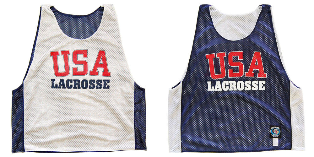USA Lacrosse Pinnie