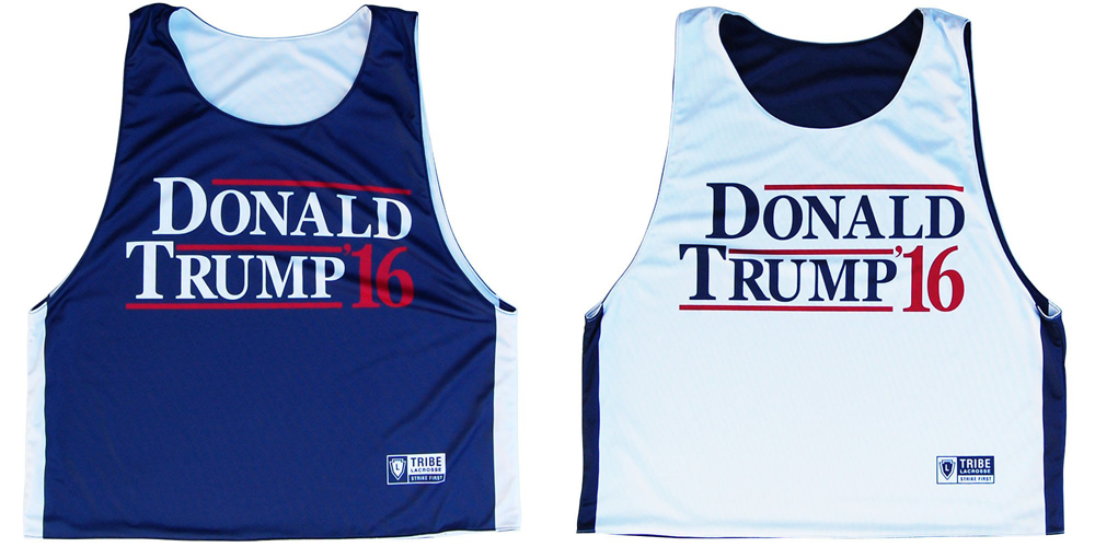 Donald Trump 2016 Lacrosse Pinnie