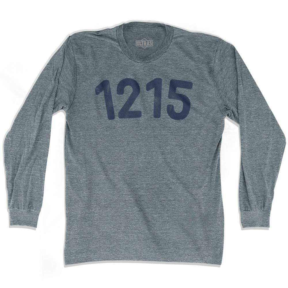 1215 Year Celebration Adult Tri-Blend Long Sleeve T-shirt by Ultras