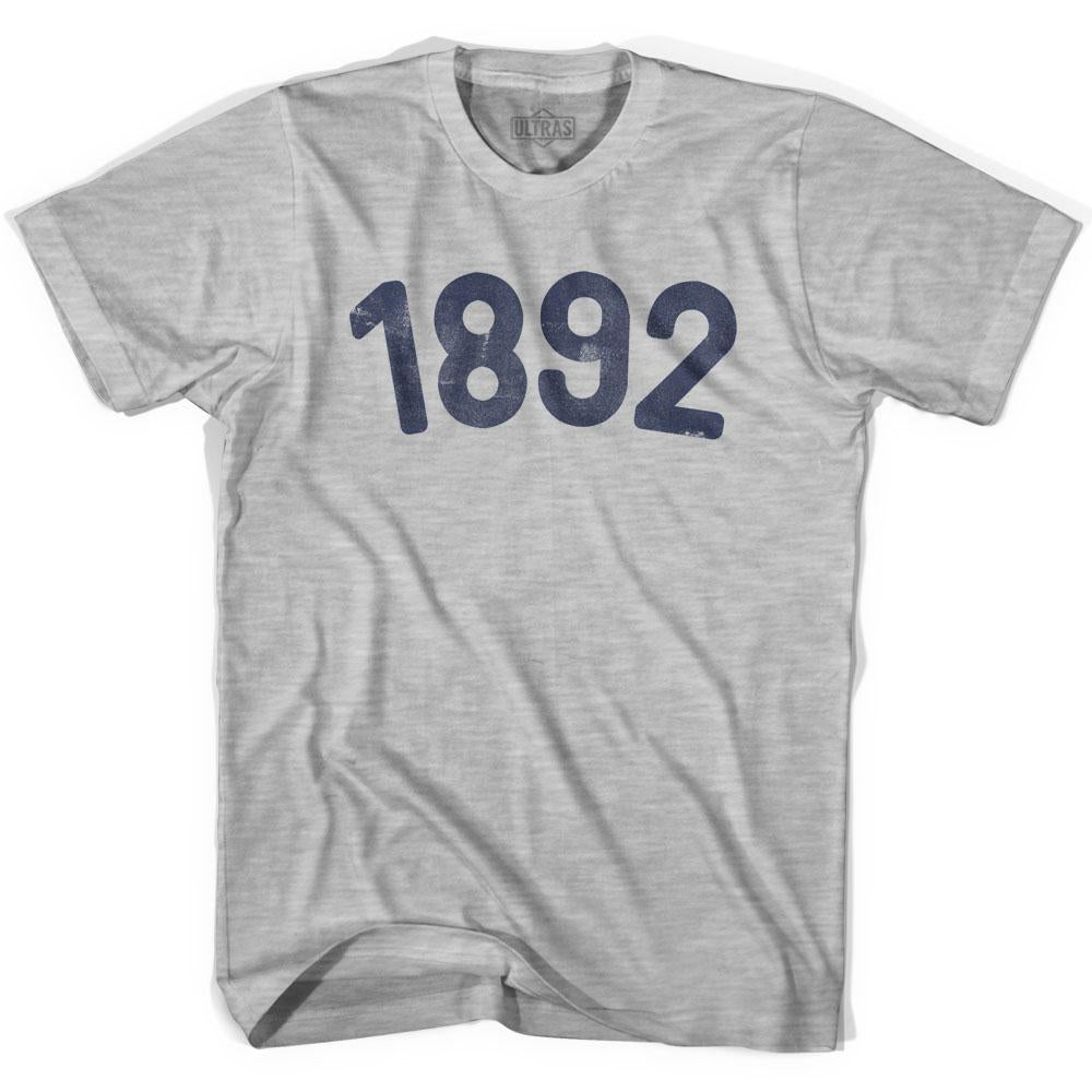 1892 Year Celebration Youth Cotton T-shirt by Ultras