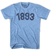 1893 Year Celebration Adult Tri-Blend T-shirt by Ultras