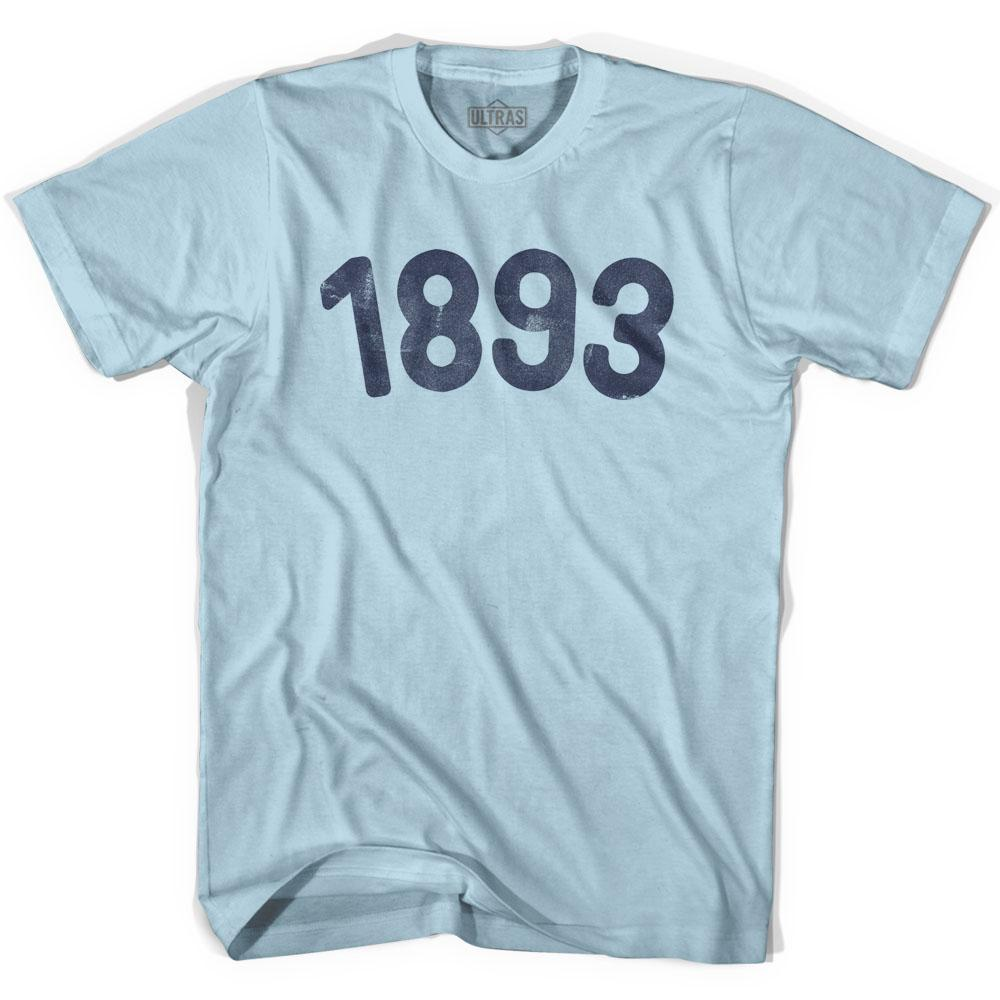 1893 Year Celebration Adult Cotton T-shirt by Ultras