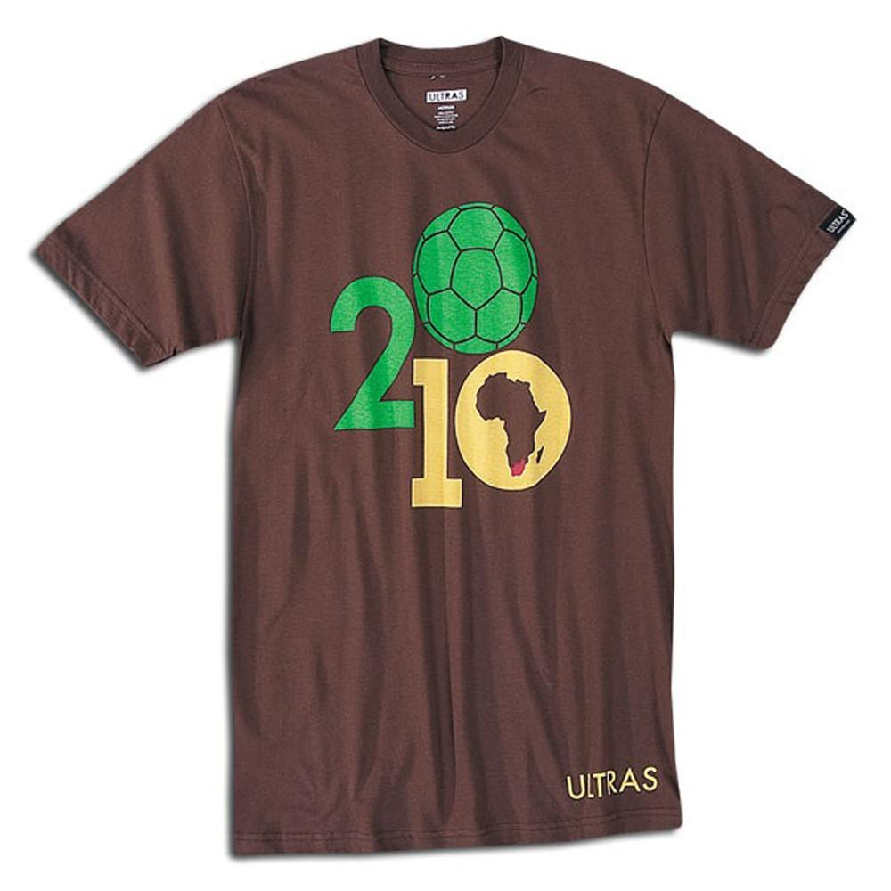 South Africa 2010 Ball World Cup T-Shirt in Brown by Neutral FC
