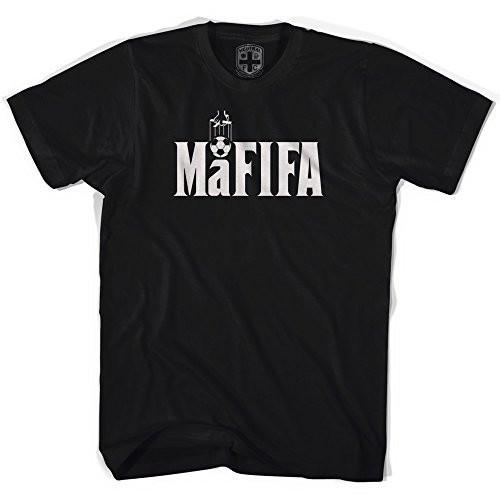 Mafifa Corruption T-shirt in Black by Neutral FC