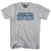 Argentina Seven RugbyT-shirt in Cool Grey by Ruckus Rugby