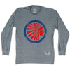 Atlanta Chiefs Soccer Long Sleeve T-shirt in Athletic Grey by Ultras