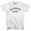 Blackbeard Beach Adult Cotton T-Shirt by Ultras