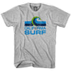 California Surf Vintage Soccer T-shirt in Cool Grey by Neutral FC