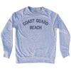 Coast Guard Beach Adult Tri-Blend Sweatshirt by Ultras