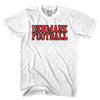 Denmark Football Country T-shirt in White by Neutral FC