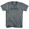 Dubai Vintage City Adult Tri-Blend V-neck T-shirt by Ultras