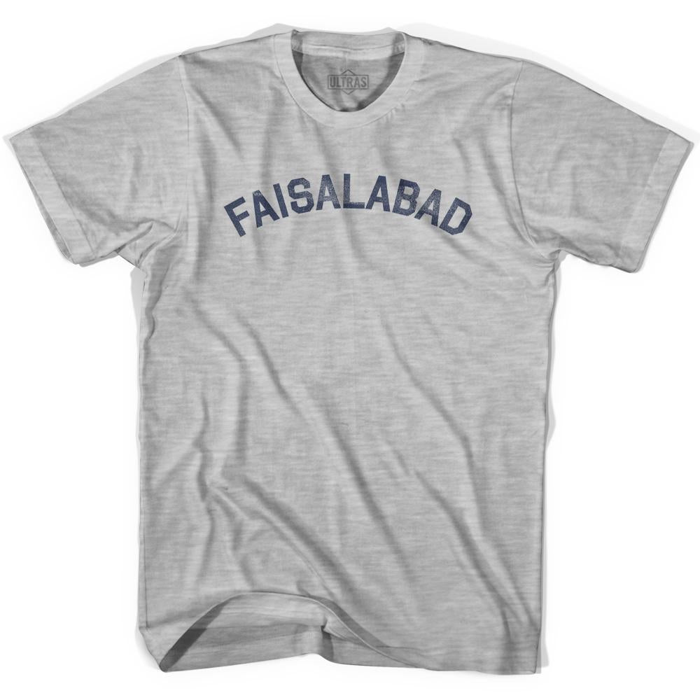 Faisalabad Vintage City Youth Cotton T-shirt by Ultras