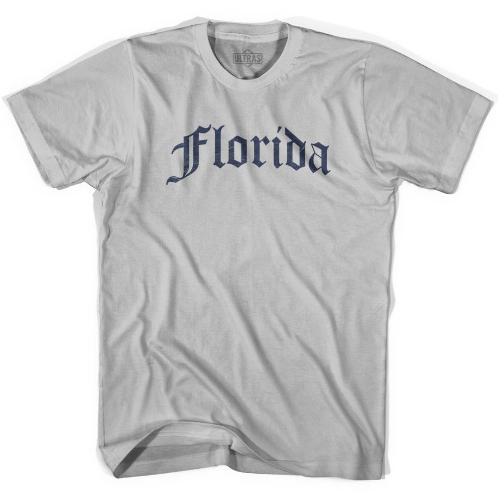 Florida Old Town Font T-shirt by Ultras