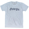 Georgia Old Town Font T-shirt by Ultras