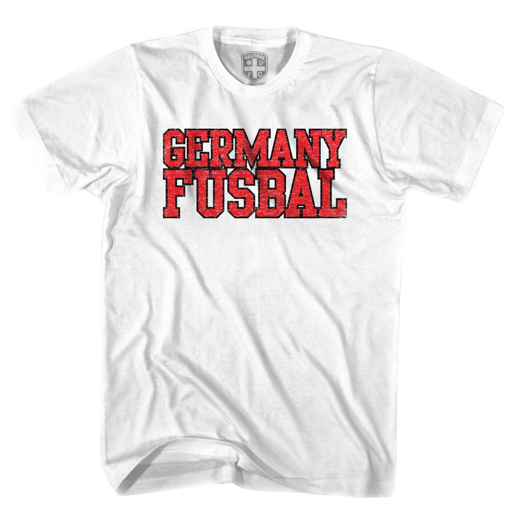Germany Fusbal Nations T-shirt in White by Neutral FC