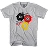 Germany The Man Machine T-shirt in White by Neutral FC