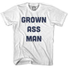 Grown Ass Man T-shirt in White by Neutral FC