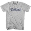 Hawaii Old Town Font T-shirt