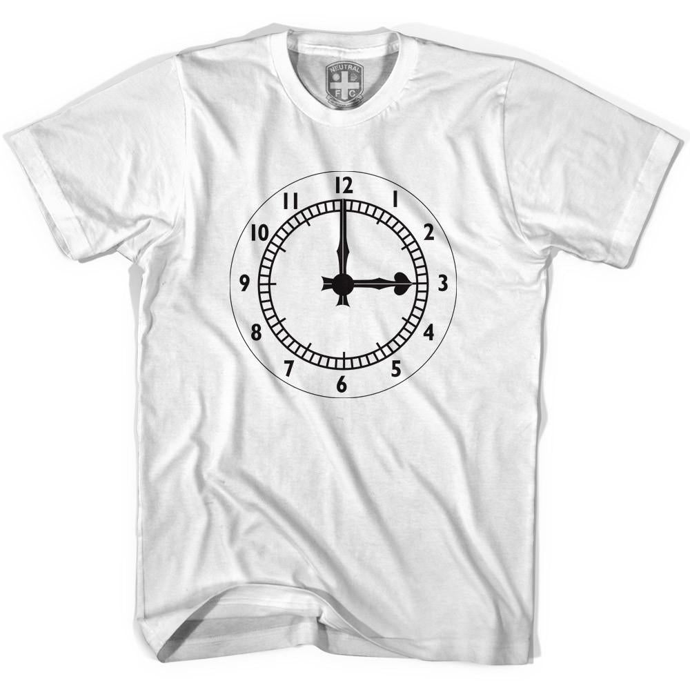 Arsenal Clock End T-shirt in White by Neutral FC