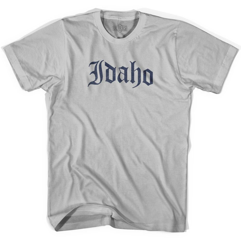 Idaho Old Town Font T-shirt by Ultras