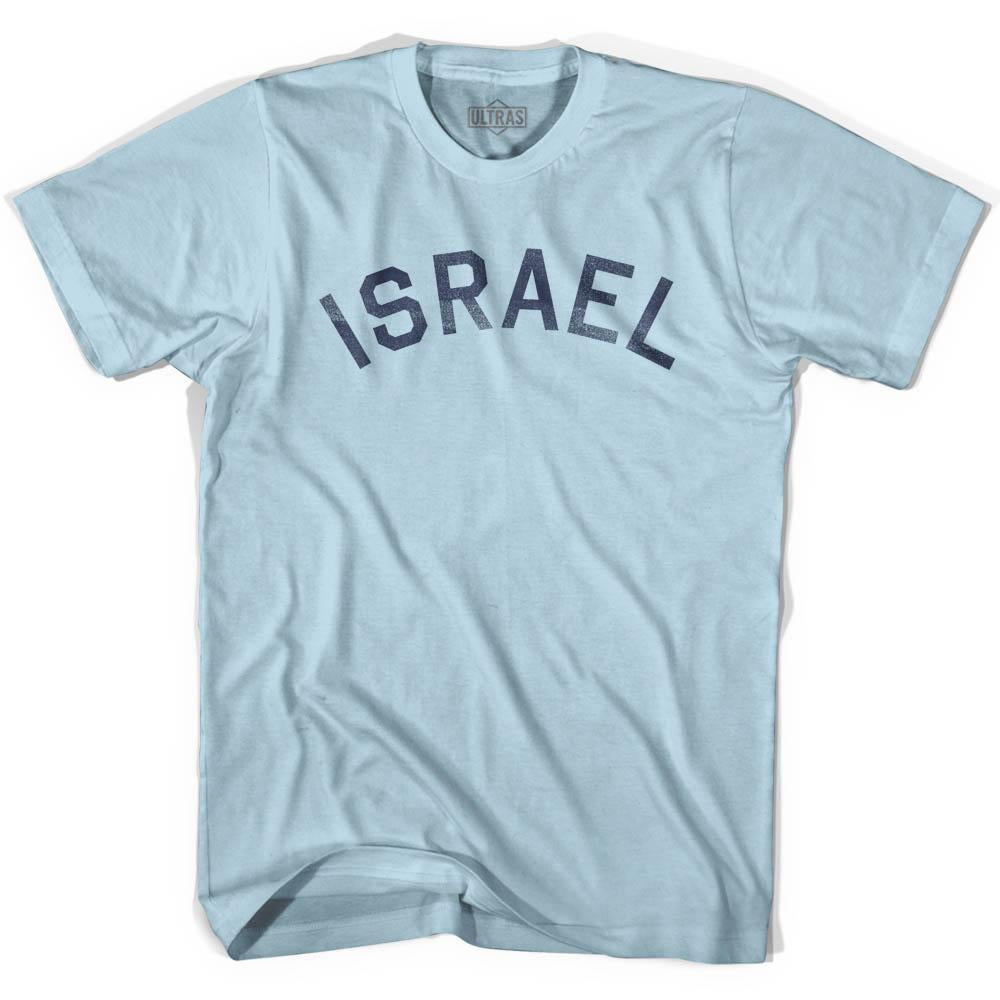 Israel Vintage City Adult Cotton T-shirt by Ultras
