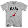 Japan Flag & Country T-shirt in White by Neutral FC