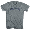 Kolkata Vintage City Adult Tri-Blend T-shirt by Ultras