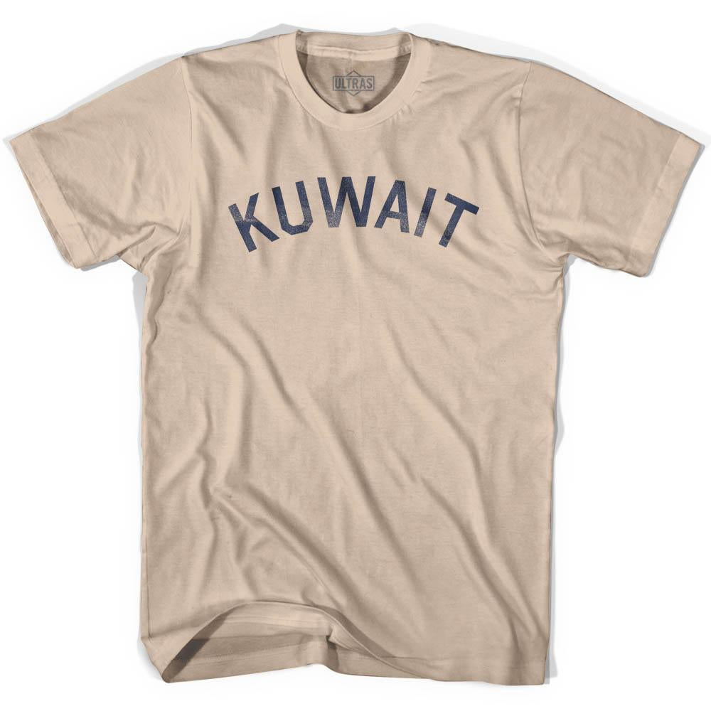 Kuwait Vintage City Adult Cotton T-shirt by Ultras