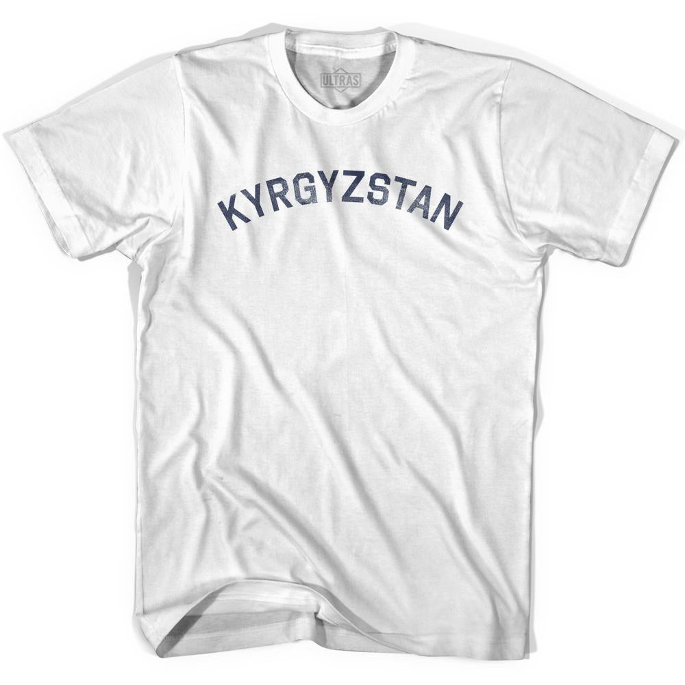 Kyrgyzstan Vintage City Adult Cotton T-shirt by Ultras
