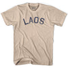 Laos Vintage City Adult Cotton T-shirt by Ultras