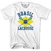 Brasil Lacrosse T-shirt in White by Tribe Lacrosse