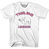 Thailand Lacrosse White T-shirt in White by Tribe Lacrosse