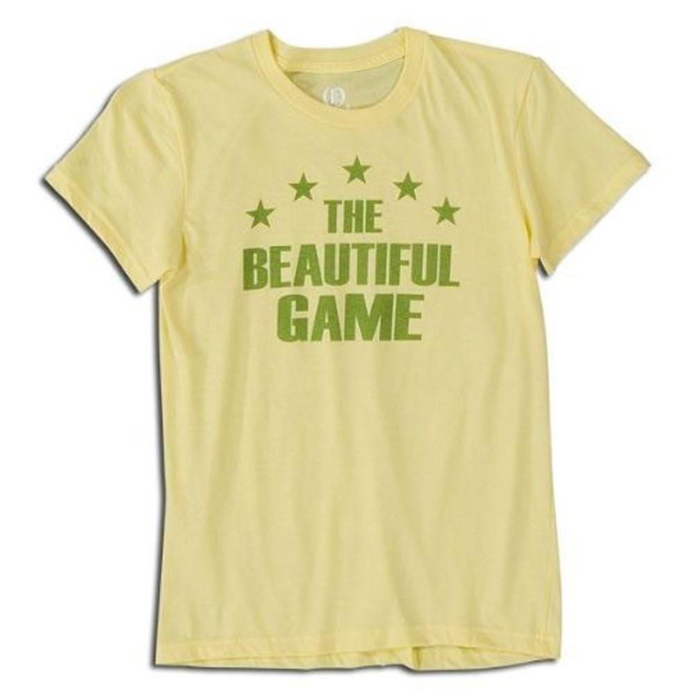 The Beautiful Game T-shirt in Yellow by Neutral FC