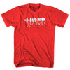 Hopp Schwizz, Switzerland T-Shirt in Red by Neutral FC