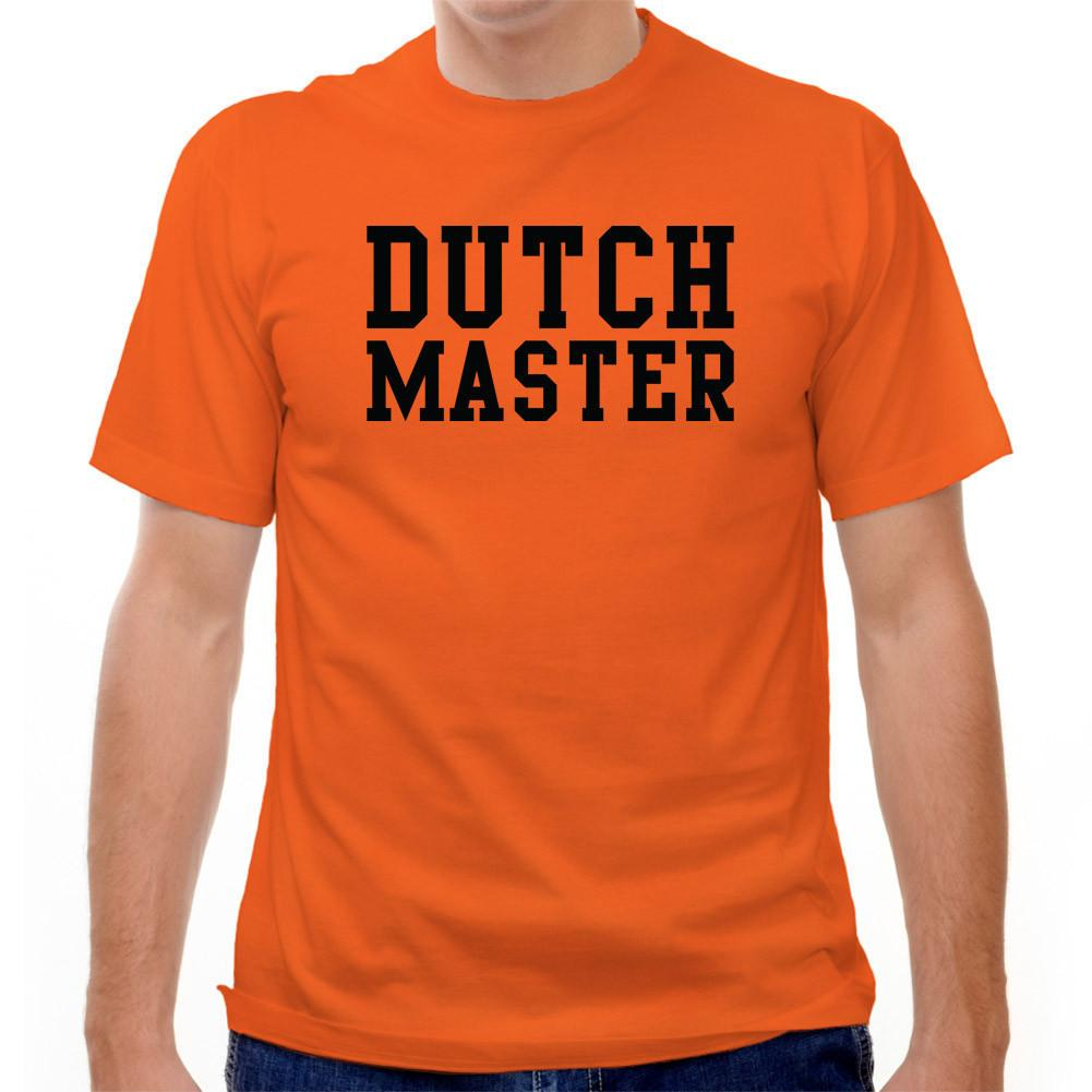 Holland Dutch Master T-shirt in Orange by Neutral FC