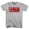 Canada Lacrosse Nation T-shirt in White by Tribe Lacrosse