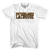 Netherlands Lacrosse Nation T-shirt in Cool Grey by Tribe Lacrosse