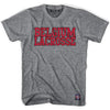 Belgium Lacrosse Nation T-shirt in Athletic Grey by Tribe Lacrosse