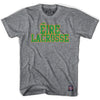 Ireland Lacrosse Nation T-shirt in Athletic Grey by Tribe Lacrosse